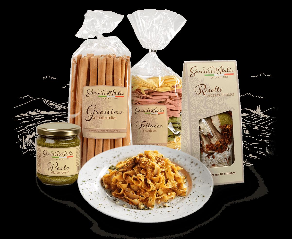 produits saveurs d'italie