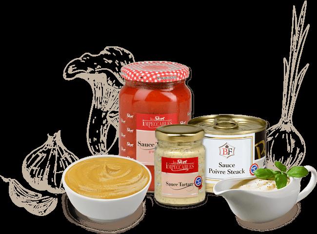 Wholesale sauce supplier : SDP Rungis, luxury delicatessen